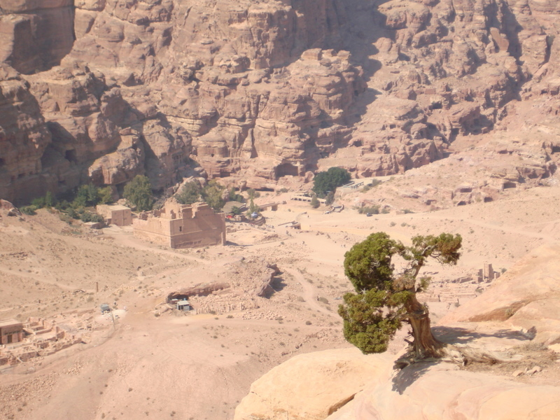 TREKKING ACROSS THE MOUNTAINS OF JORDAN